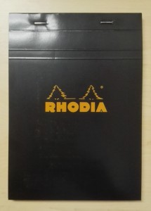 Rhodia A5 Pad Front
