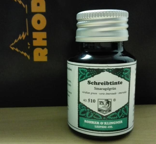 Rohrer & Klingner Smaragdrun Bottle